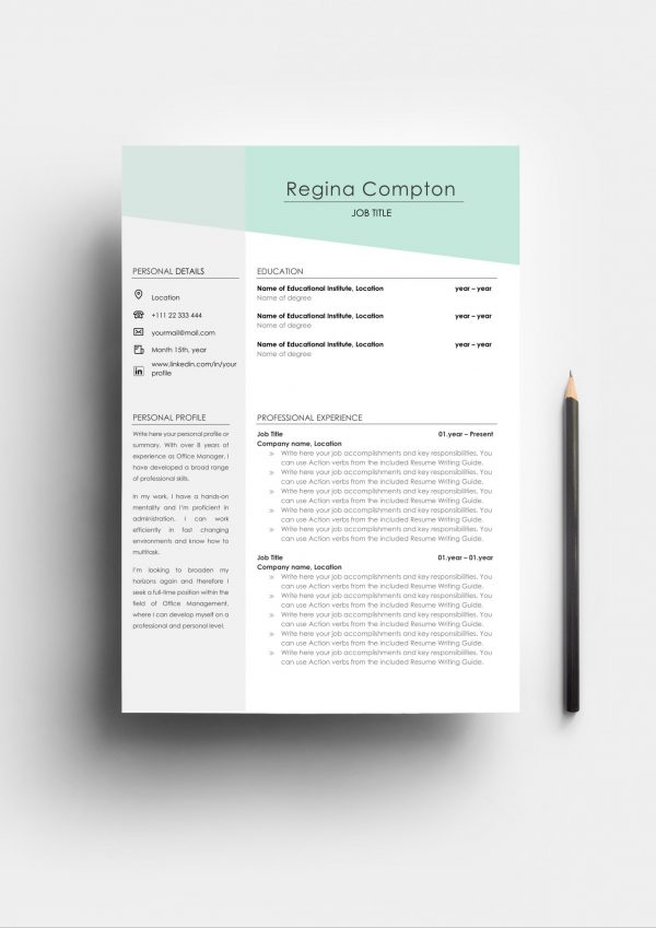 Eye-catching Resume Template