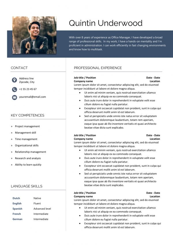 Practical Resume Template