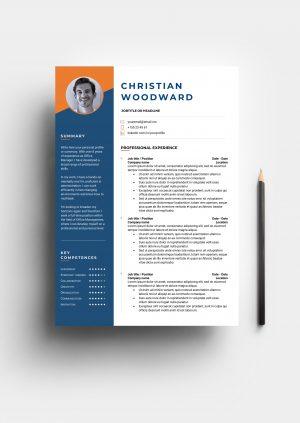 modish resume template