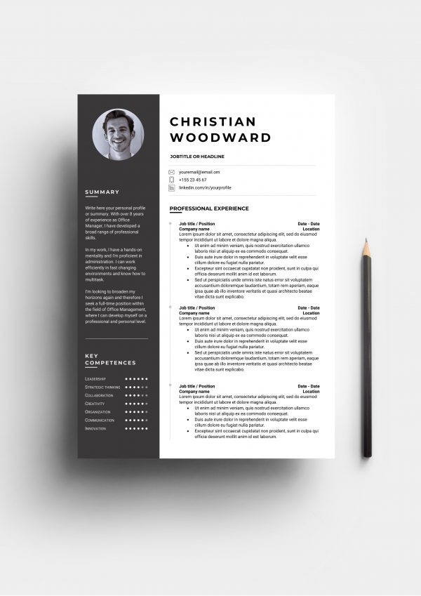 Popular resume template