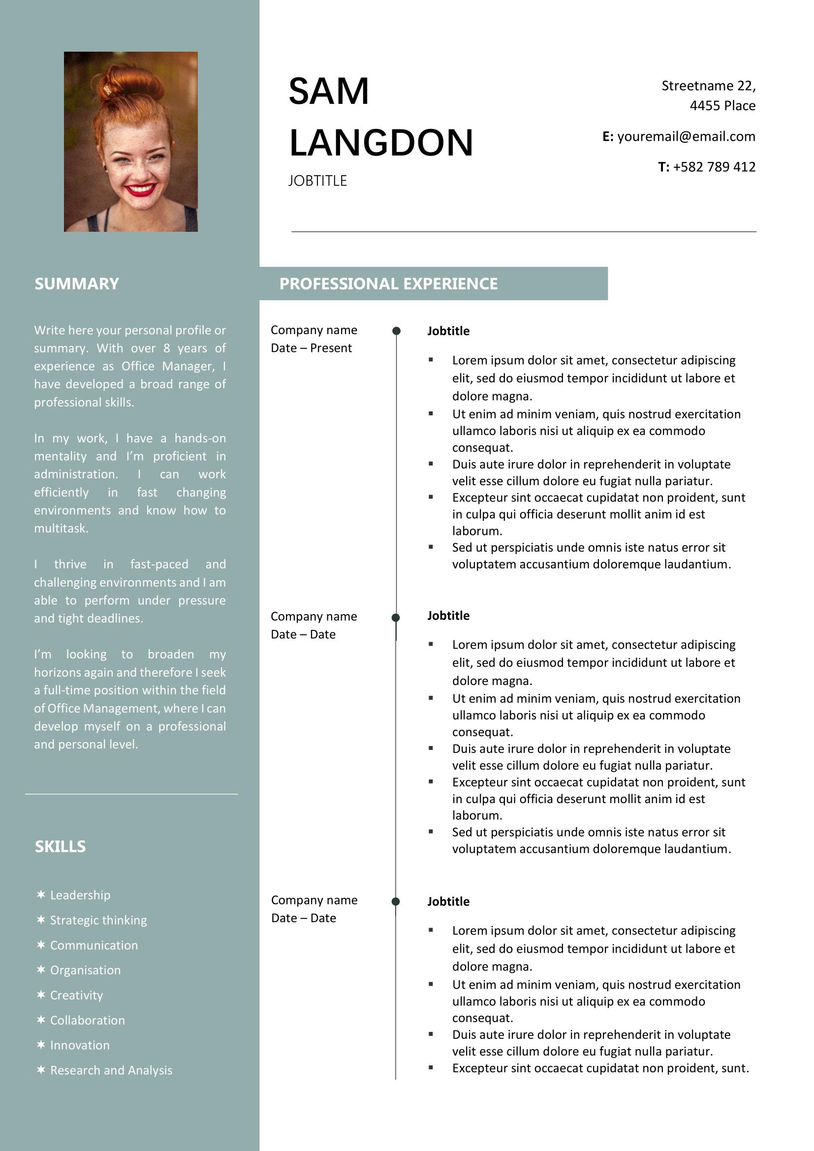 Top Resume Template