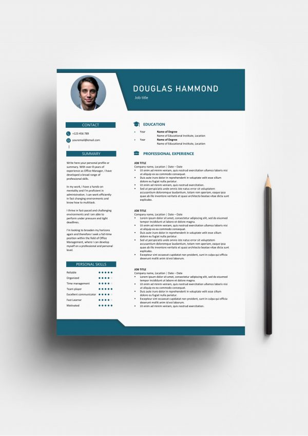 Graphical Resume Template