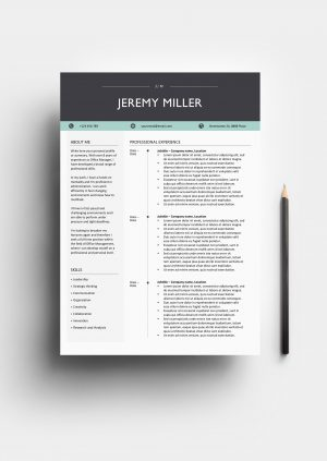 Supreme resume template