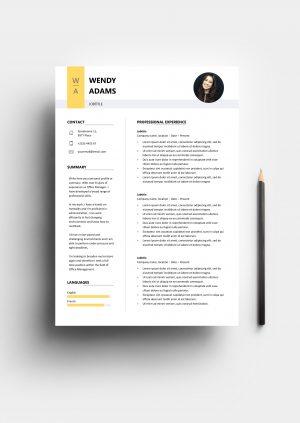 Premium Resume Template